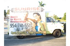 Fittness Vehicle Wrap