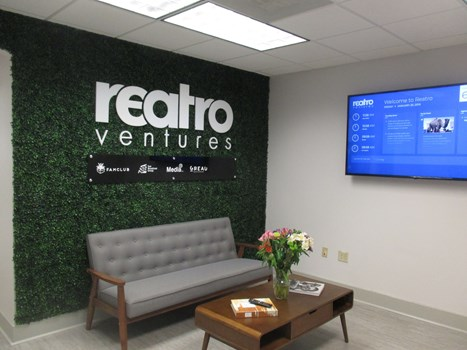 Grass Wall | 3D Signs & Dimensional Letters | Interior Signage & Indoor Signs | Reception Signage | Boca Raton, FL